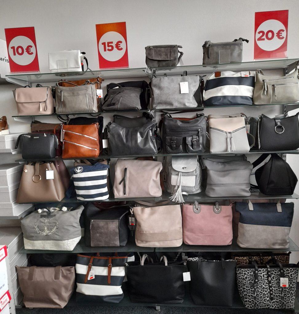 Reno Taschen Aktion € 10 € 15 € 20